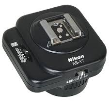Nikon AS-17 Flash Coupler ISO/TTL Shoe To F3